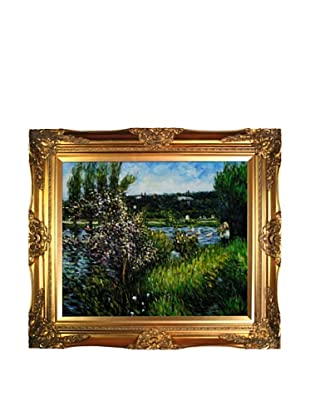 Pierre Auguste Renoir The Seine at Chatou Oil Painting