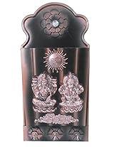 Laxmi and Ganesh Ji Wall Decorative with Key Hanger