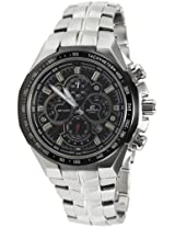 Casio Edifice Chronograph Black Dial Men's Watch - EF-554SP-1AVDF (EX007)