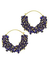 Ethnic Indian Bollywood Fashion Jewelry Set Traditional Hoops EarringsV735BV735b