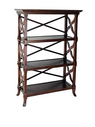 Charleston Charter Book Stand, Brown