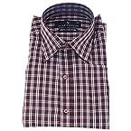 Star Cotton Brown Checks Cotton Formal Shirt for Men