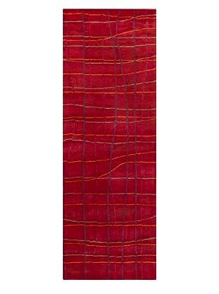 Chandra Daisa Rug, Red, 2' 6