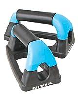 Nivia Push-Up Bar, 4 inch (Black)