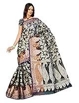 Saree Sansarr Saree (6032_Black)