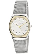 Skagen Analog Silver Dial Women's Watch - SKW2050I