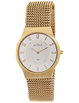Skagen Grenen Analog Silver Dial Men's Watch - 233LGG2M