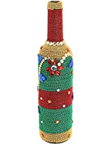 Decorated Wine Bottle (30.5 cm x 12.7 cm, CC-22)