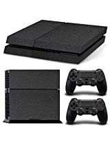 Gam3 Gear Vinyl Sticker Pattern Decals Skin For Ps4 Console & Controller Leather Black
