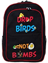 Angry Birds Large School Bag In Black