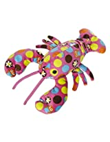 "Mary Meyer 7.5"" Hoots Pink Print Lobster Plush"