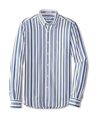 GANT Rugger Men's Dreamy Oxford Button-Up Shirt (Pilot Blue)