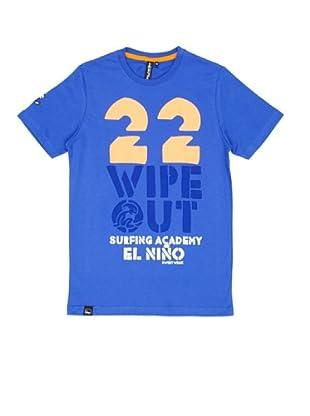 El Niño Camiseta Manga Corta Wipe Out (azul ultramarino)