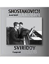 Shostakovich and Sviridov
