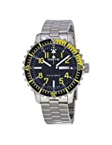 Fortis Marinemaster Black Dial Stainless Steel Men's Watch (670.24.14 M)