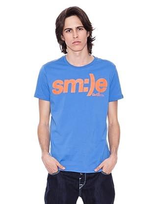 Gio Goi Camiseta Tirus (azul agua / naranja)
