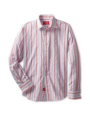 Rufus Men's Stripe Shirt (Multi Stripe)