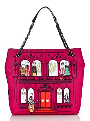 Love Moschino Shopper House pink