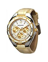 Romanson White Dial Unisex Watch (RL0357UU1CM11G)