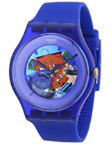 Swatch Analog Blue Dial  Unisex Watch - SUON101