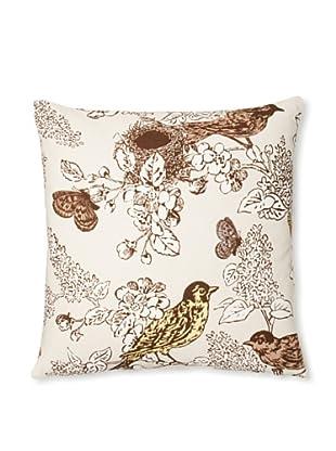 The Pillow Collection Ouvea Decorative Pillow (Smoke)