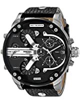 Diesel The Daddie Analog Black Dial Men's Watch - DZ7313