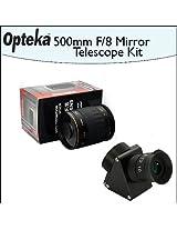 Opteka 500mm f/8 HD Telephoto Mirror Lens + Lens Converter To Telescope Kit