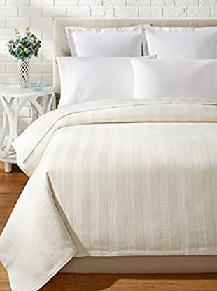 Belle Époque Studio Stripe Crochet Coverlet