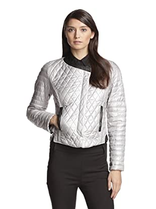 Vince Camuto Women's Quilted Jacket (Silver)