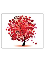 Lovely Collection Hearts Tree Mousepad