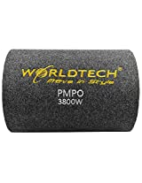 Worldtech WT-BT1400 Car Bass Tube with 10 inch woofer and Amplifier