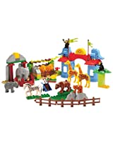 Cp Toys 105 Pc. Preschool Zoo Building Bricks Set