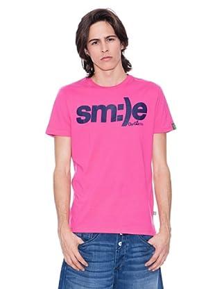 Gio Goi Camiseta Tirus (rosado / azul marino)