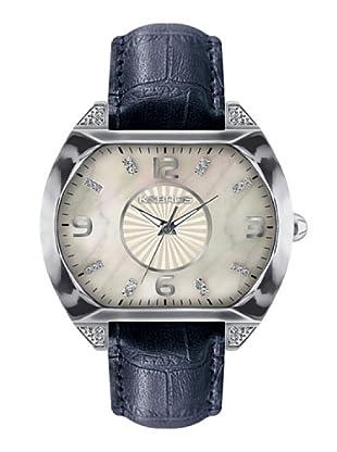 K&BROS 9160-2 / Reloj de Señora  con correa de piel morado