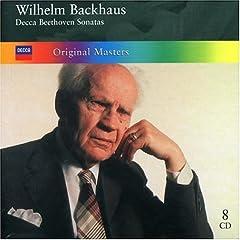 Wilhelm Backhaus: Decca Beethoven Sonatas(8枚組)の商品写真