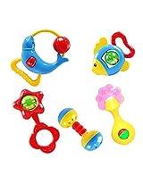 Lookatool Animal Handbells Developmental Toy Bells Kids Baby Rattle Lovely