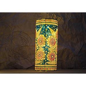Moya Foliage Love - Cylindrical Hanging / Table Lamp
