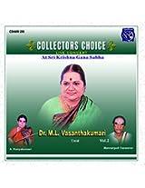 M.L. Vasantha Kumari - Vol. 2