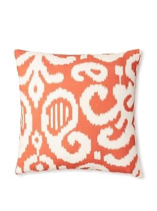 The Pillow Collection Teorra Ikat Decorative Pillow (Flame)