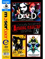 Critically Acclaimed Anurag Kashyap Collection of 3 Off - Beat Films (Dev D/That Girl In Yellow Boots/Shaitan)