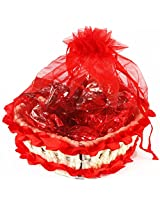 Valentine Gifts- Sugarfree Heart Basket with Chocolates