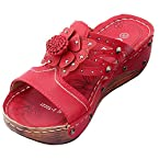 CAPZ Girls Red Synthetic Sandal 36 W EU