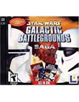 Star Wars Galactic Battlegrounds Saga - Jewel Case (PC)