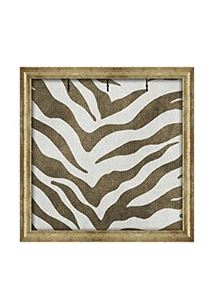 PTM Images Jungle Cat Key/Jewelry Organizer with Foam-Core Backing, Green