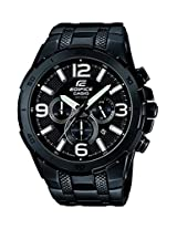 Casio Edifice Stopwatch Chronograph Black Dial Men's Watch - EFR-538BK-1AVUDF (EX179)