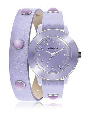 K&Bros  Reloj 9574 (Lavanda)