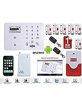 """""""D3D Smart Home Security System - Android + iOS App, Glass Sensor, Door / Window """""""
