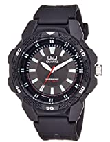 Q&Q Analog Black Dial Unisex Watch - VR54J001Y