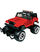 Nikko 1:14 Jeep Rubicon Monster, Red