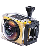 Kodak SP360 with Explorer Accessory Pack 16 MP Digital Camera with 1x Optical Image Stabilized Zoom and 1-Inch LCD (Yellow)